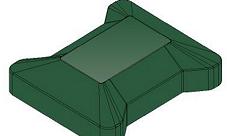Крышка универсальная для модульного ограждения